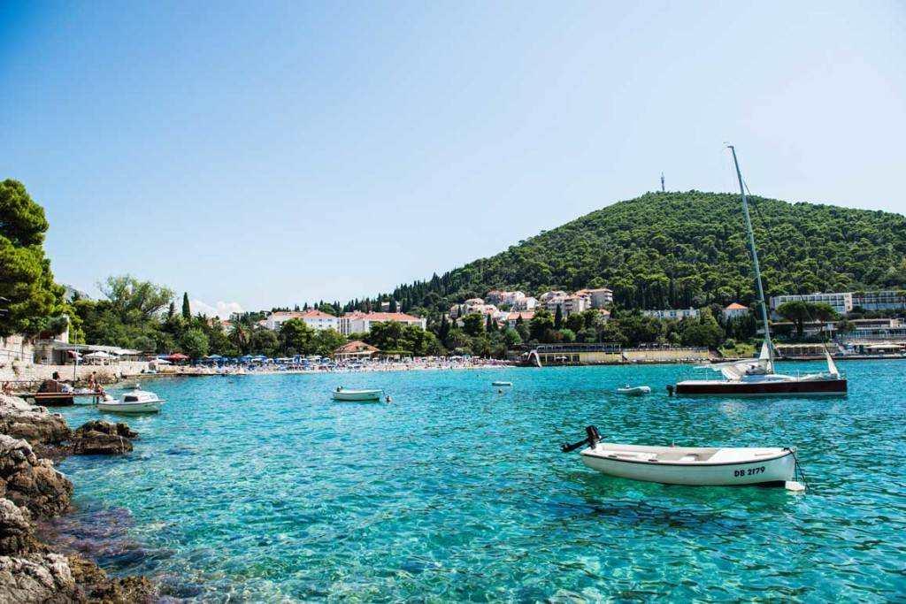 Лапад пляж в Дубровнике