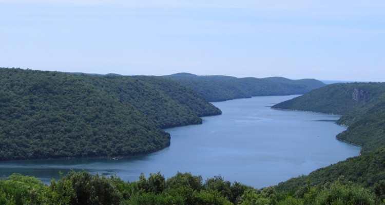 Лимский канал, Истрия, Хорватия