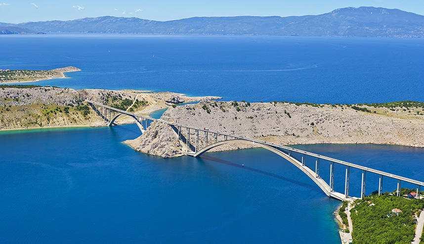 Мост на острове Крк