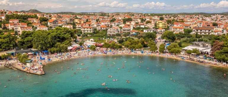 пляж Плава Плаза в Водице