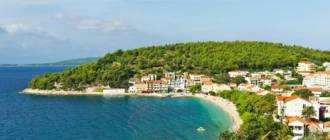 Пляж Cmilje в Дрвенике