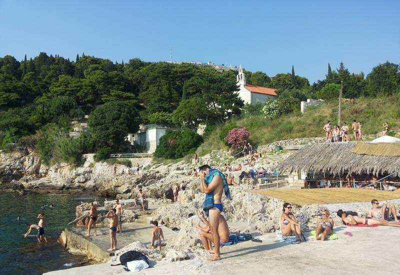 Пляж Данче Дубровник