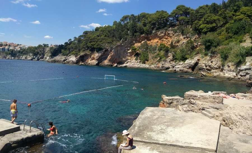 Пляж Данче в Дубровнике