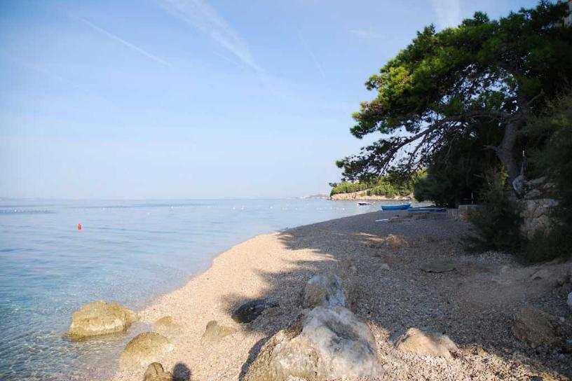 Пляж Дуче в Омише