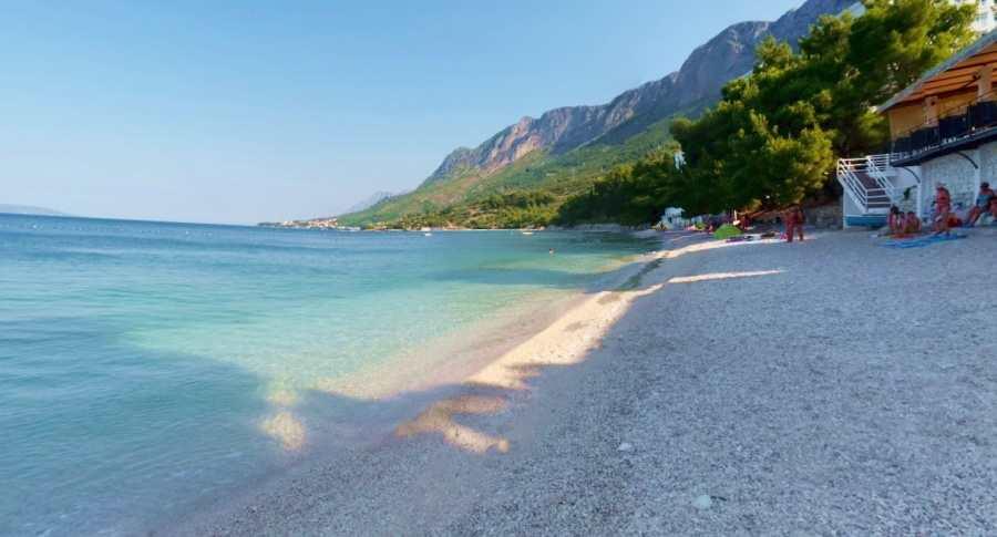 Пляж Горная Вала Градац