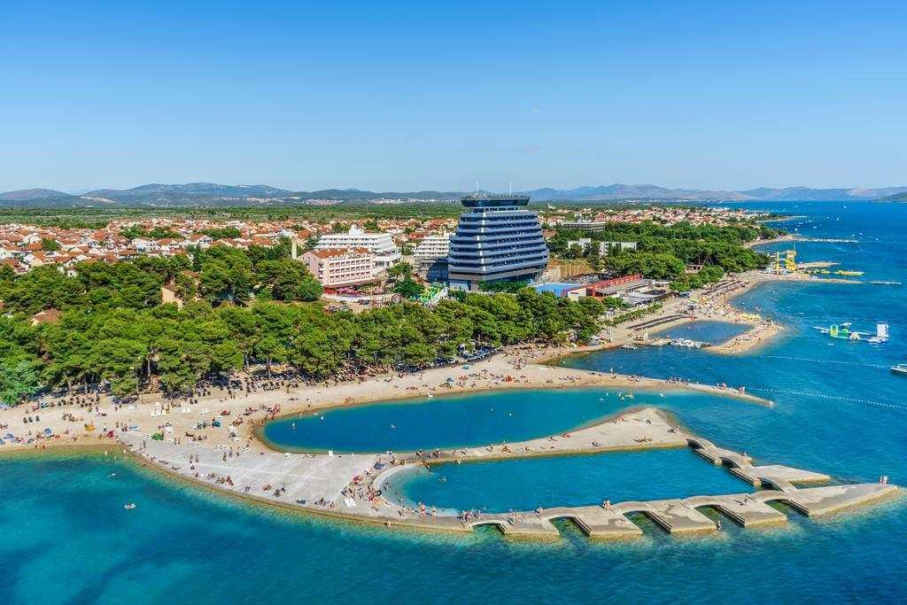 Пляж отеля Олимпия Водице