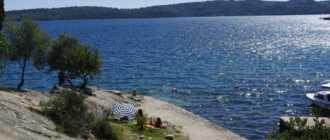 пляж Пунтин в Дрвенике