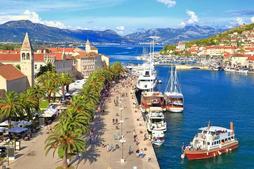 Трогир Хорватия как добраться