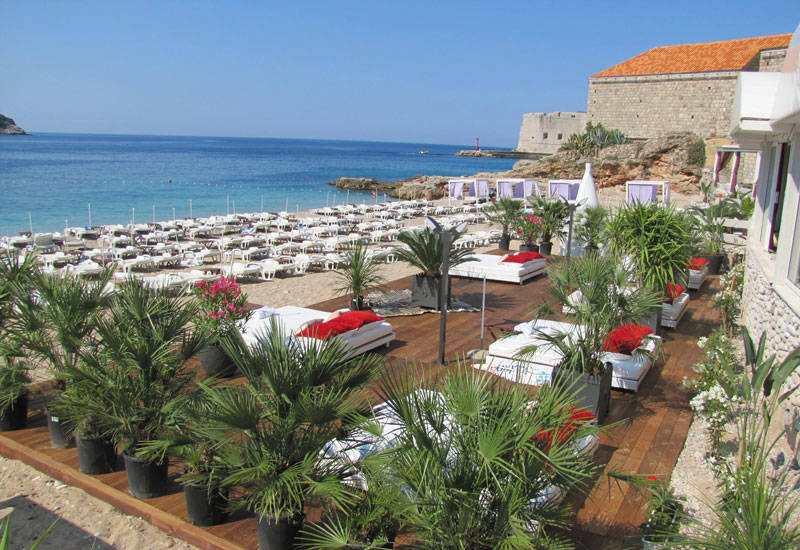 пляж в Banja Dubrovnik