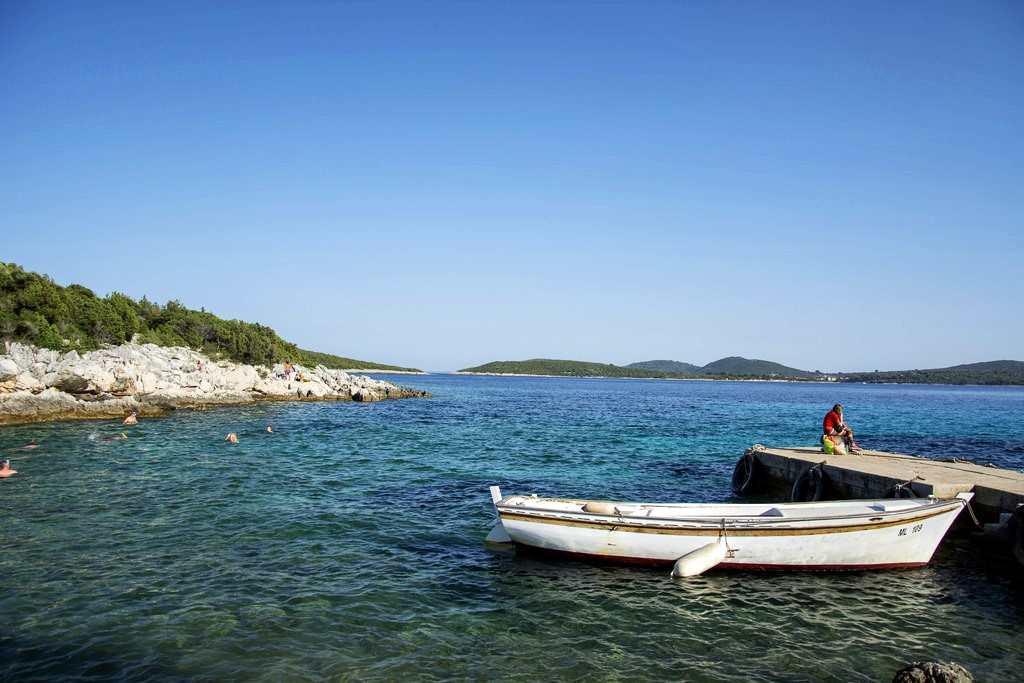 Пляж Timy на острове Лошинь