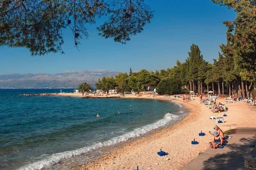 Пляж Вела Лука на острове Корчула