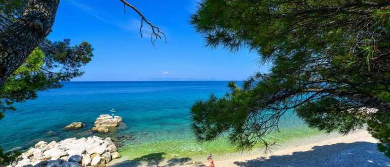 Пляж Терранеа в Шибенике