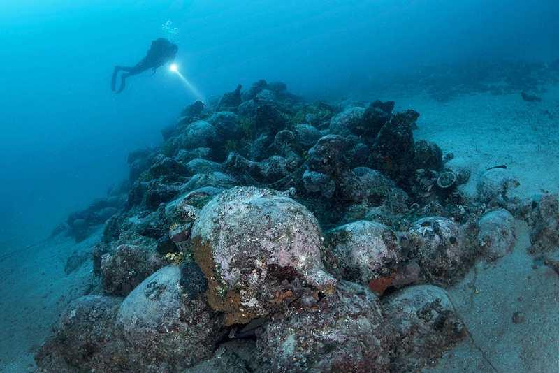Таинства на дне моря в Хорватии