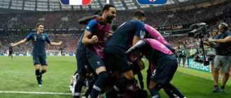 Франция выиграла у Хорватии в финальном матче Чемпионата мира